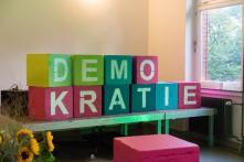 """Der Demokratiedialog in Hamburg des Projekts """"Gut vertreten?"""" der Heinrich-Böll-Stiftung"""