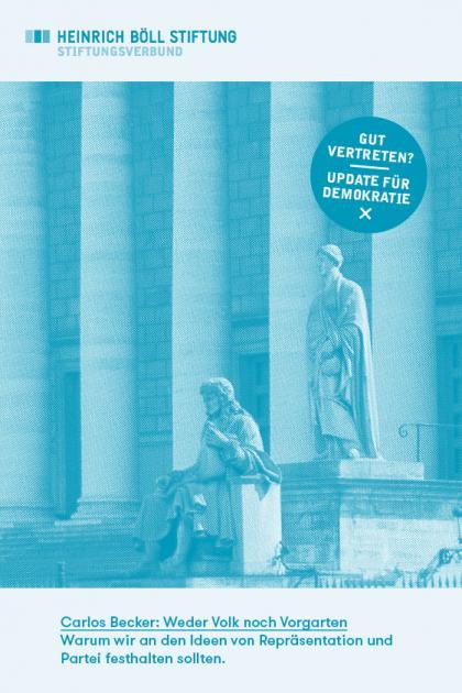Cover des Policy Papers Carlos Becker: Weder Vok noch Vorgarten