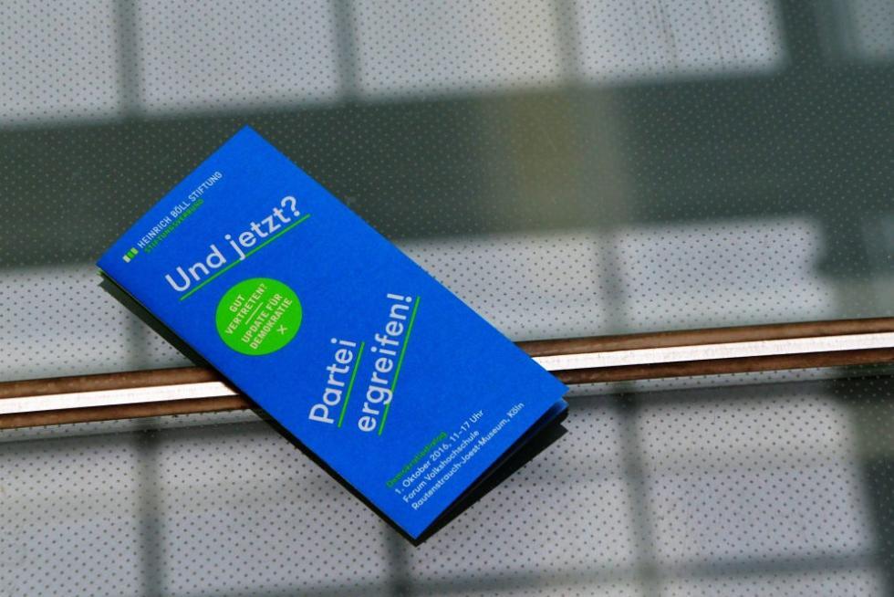 Der ersten Demokratiedialog in Köln: Jetzt Partei ergreifen!